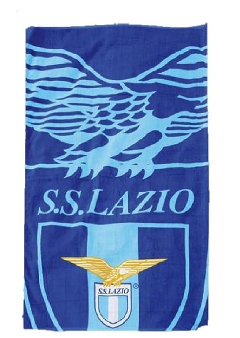 Toalla de playa grande S.S. Lazio Colección oficial del equipo de fútbol 100 x 180 cm