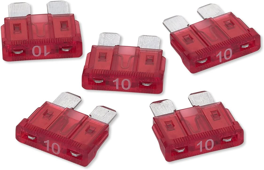 RoadPro RPATO10 10 Amp ATO Fuse, Pack of 5