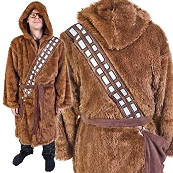 Star Wars Chewbacca Adult Bathrobe & Swim Suit Cover Up Big and Tall