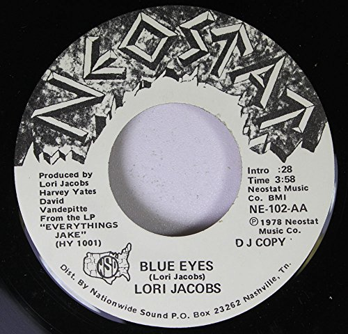 Lori Jacobs 45 RPM Blue Eyes / Tugboat Annie