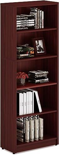 Deal of the week: Sunon Wood Bookcase Freestanding 5 Shelf Book Case Adjustable Layers Bookshelf