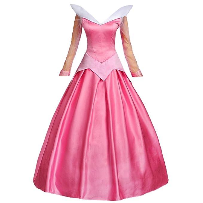 Amazon.com: Angelaicos - Disfraz de princesa de satén para ...