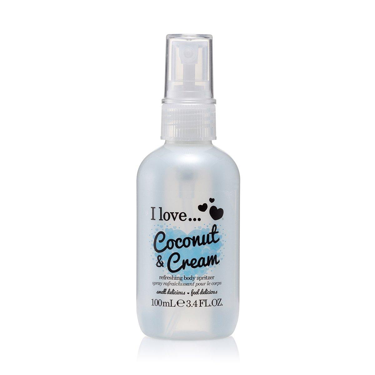 I Love Coconut Cream Refreshing Body Spritzer 100ml Amazonco Holiday Series Hawaii Breeze 200ml Beauty
