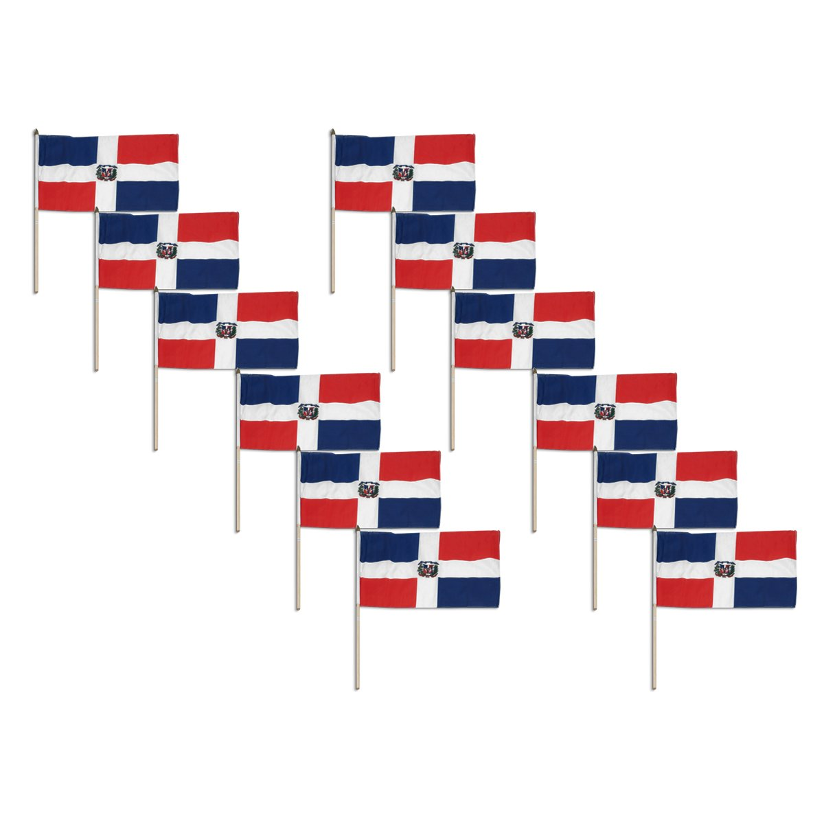 amazon com us flag store dominican republic flag 12 by 18 inch