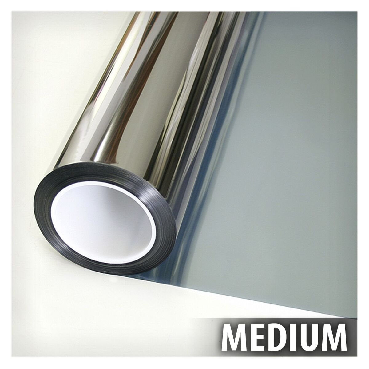 BDF EXS35 EXTERIOR Window Film High Heat Rejection Silver 35 (Medium) - 36in X 50ft by Buydecorativefilm (Image #3)