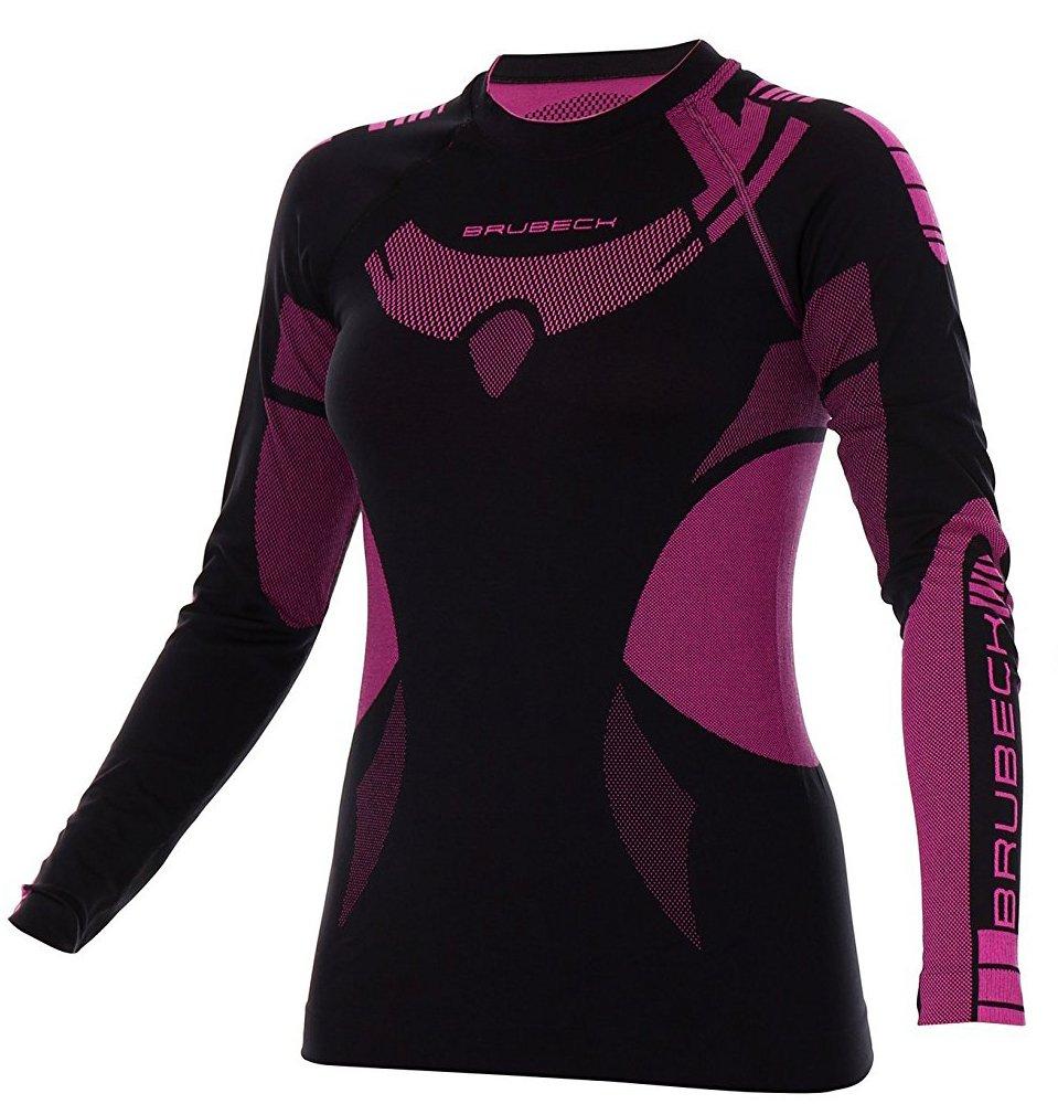 BRUBECK® SET DRY Damen LE11850 + LS13070 (Hose + Langarmshirt) | Base Layer | Funktionswäsche | Atmungsaktiv | Anti-allergisch | Antibakteriell