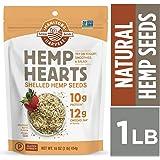 MANITOBA HARVEST Hemp Hearts Shelled Seeds, 454 Grams