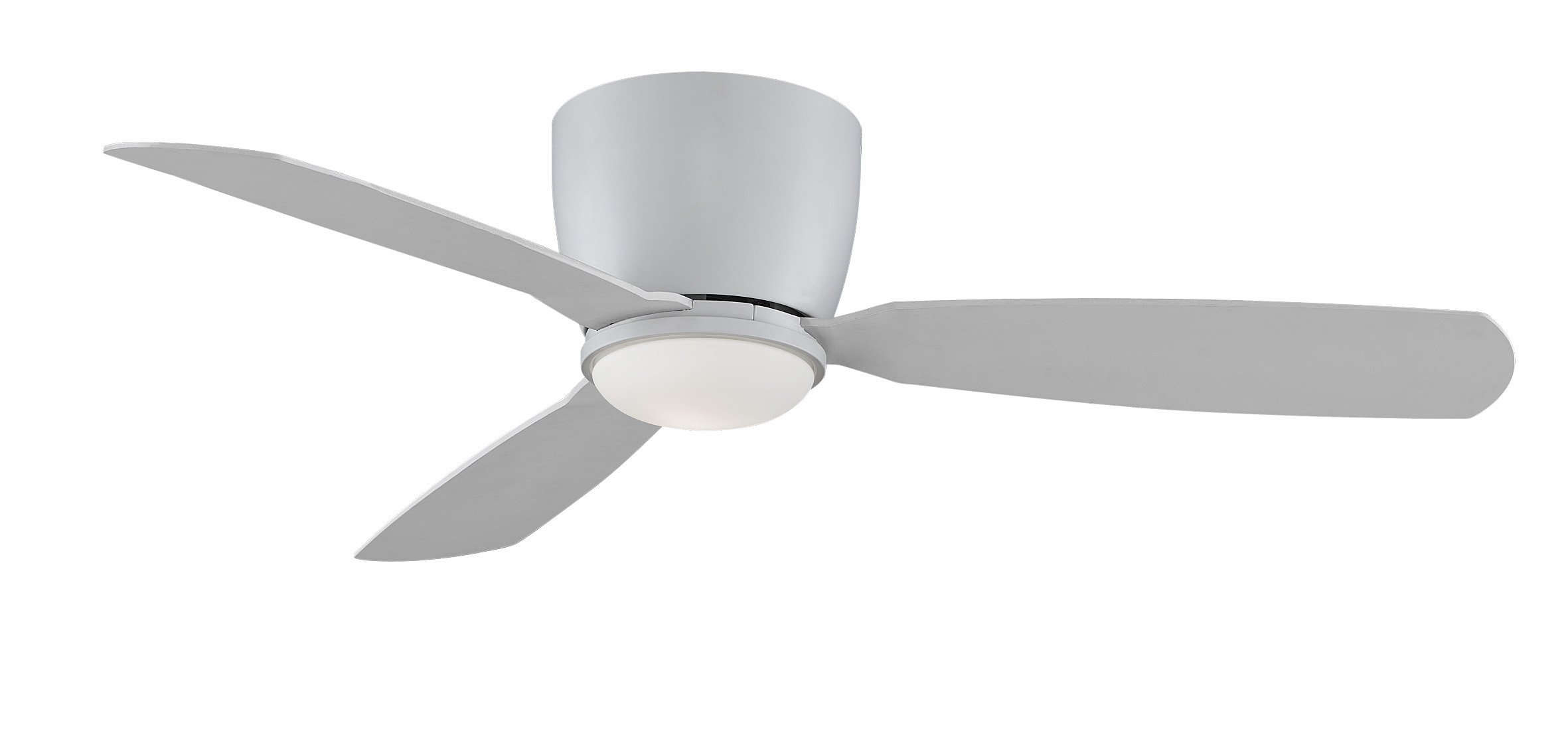 Fanimation Embrace - 52 inch - Matte White with Matte White Blades with Light Kit and Remote  - FPS7955MW