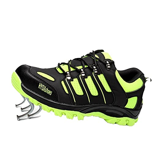 SUADEEX Unisex Mujer Hombre Zapatillas de Seguridad Deportivos con Puntera de Acero Zapatos de Trabajo Entrenador Zapatillas de Senderismo 35-46: Amazon.es: ...