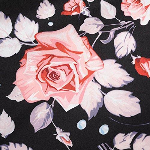 d'onde Robe Classique Impression Ceinture Anim Point Swing Style Femmes QinMM 's 50 Annes lgant Hepburn Cocktail Casual F Audrey Rtro Soire Vintage de Mariage qAWvwR5Z