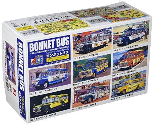 マイクロエース 1/32 ボンネットバスシリーズ NO.3 いすゞ ボンネットバス 北海道中央バス プラモデルの商品画像