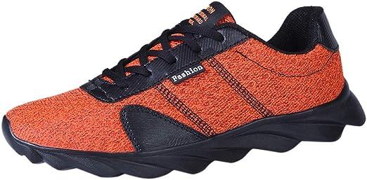 Darringls Zapatillas de Deporte, Hombres Mujer Zapatillas Calzado ...