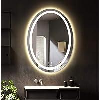 LUVODI Espejo de Baño Moderno con Iluminación LED