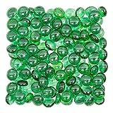 Rastogi Handicrafts Centerpieces,Glass Gems for Vase Fillers,Wedding, Decoration Pebbles 400 pcs (Green)