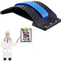 Dilatador lumbar, fácil comodidad, soporte lumbar para la columna vertebral, alivio del dolor muscular boca abajo…