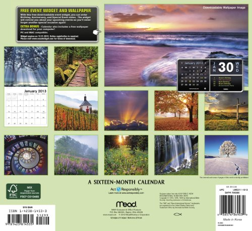 2013 Bible Verses Wall Calendar