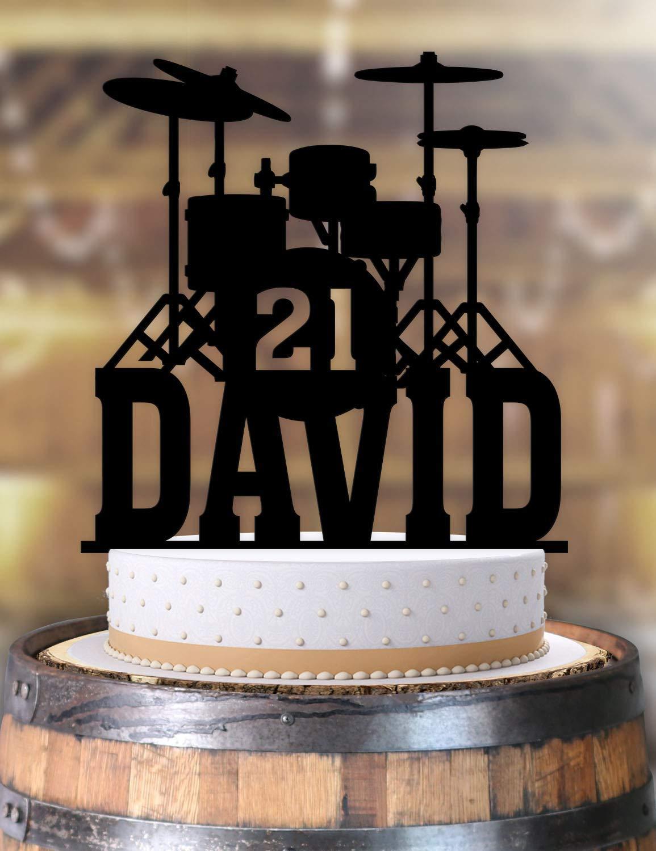Fine Amazon Com Drummer Musician Drums Birthday Cake Topper Funny Birthday Cards Online Aboleapandamsfinfo