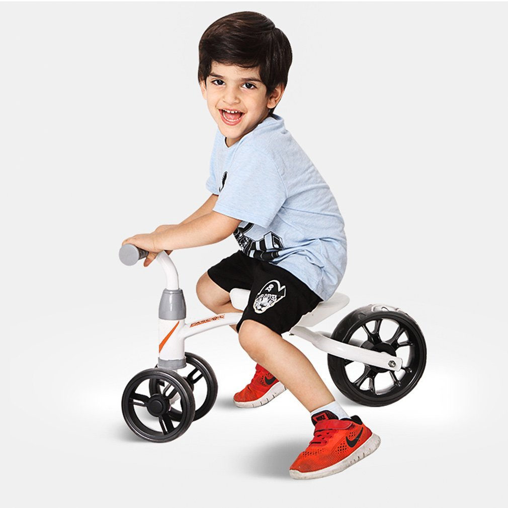 NOBLEKID Baby Balance Bikes Bicycle Children Walker Baby Tricycle 1-3 Years No Foot Pedal Infant Three Wheels Toddler Bike First Birthday Gift for Indoor Outdoor