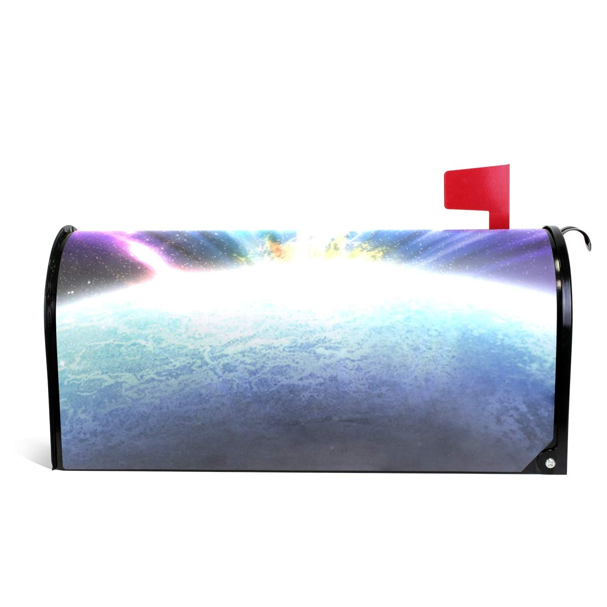 Chu warm Mailbox Covers Magnetic Aurora Light in Space Standard Size