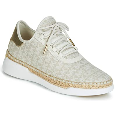 new product db131 d1cf5 Michael MICHAEL KORS Finch Sneaker Damen Beige Sneaker Low ...