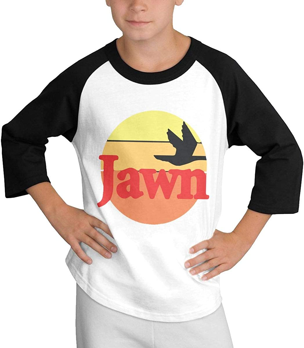 HUCON Jawn Wawa Toddler//Infant Boy Girl T Shirt Cute Short Sleeve Outfits