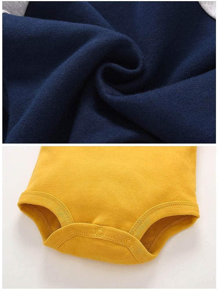 Veste+Pantalon Hiver Tenues 3-18 Mois ARAUS 3PC B/éb/é Combinaison avec Chapeau Ensembles /Épais Barboteuse /À Capuche Chaud Manteaux Jumpsuit Cartoon Salopette