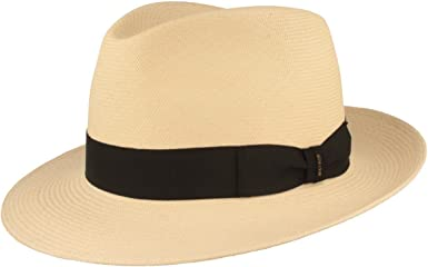 Traditional Hand Woven in Ecuador Water Resistant Lightweight and Breathable Material. UV 40 Sun Protection Summer Hut Original Panama Hat Straw Hat