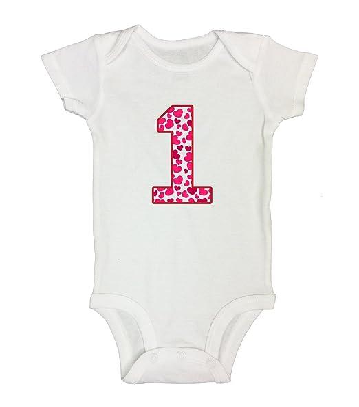 28a639d2 Amazon.com: Kids First Birthday Onesie