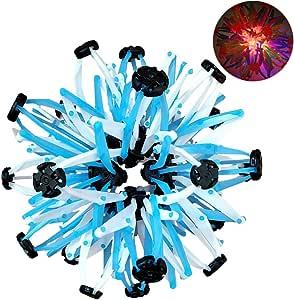 Daxoon Expandaball Expanding Ball Toy Pelota telescópica con luz ...