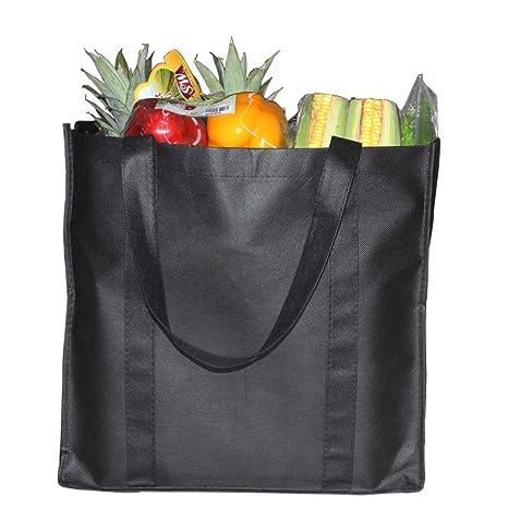 YBCPACK 6 bolsas reutilizables para comestibles con asas ...