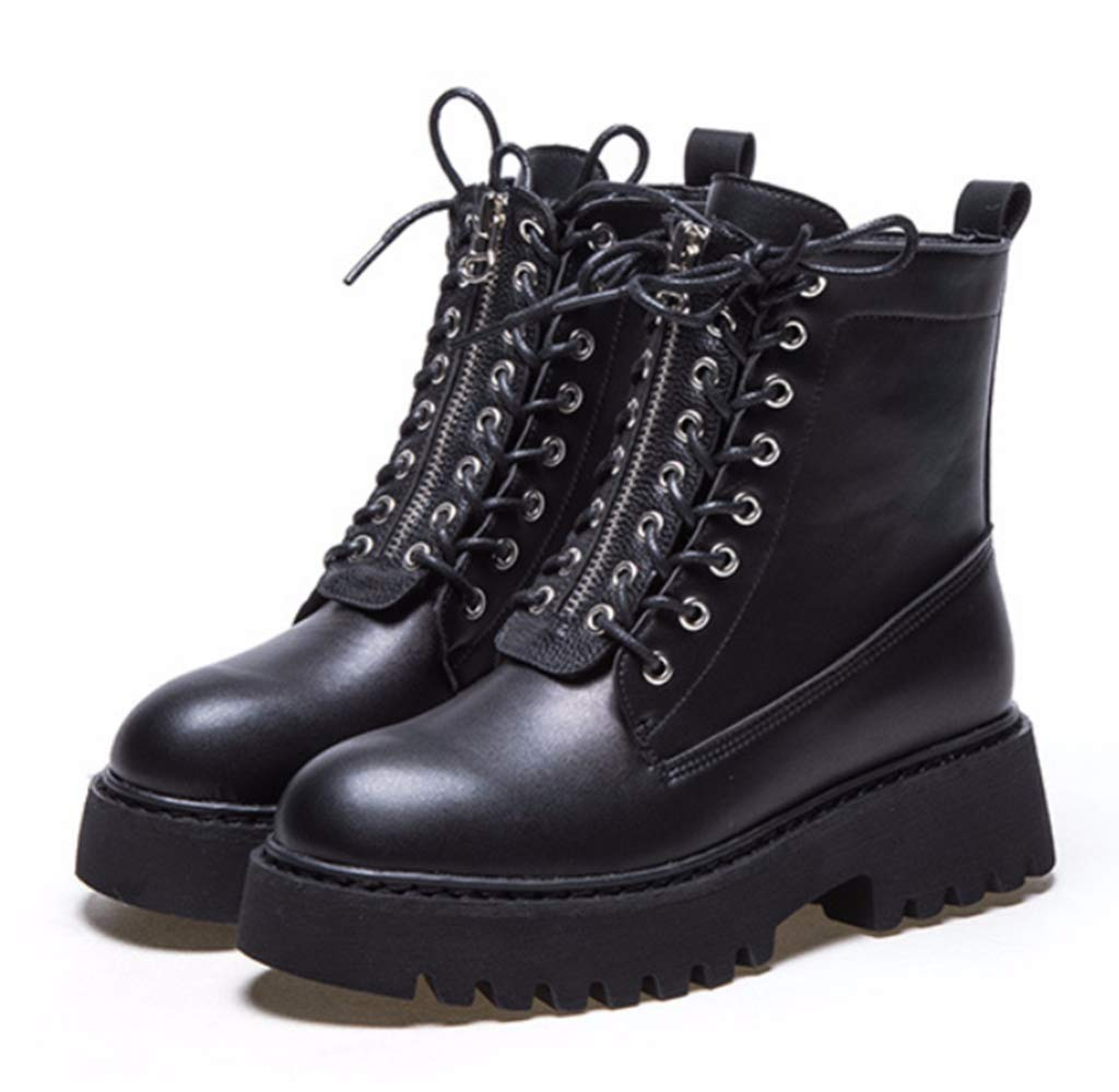 Shiney Shiney Shiney Frauen Martin Stiefel 2018 Dicke Unterseite Plus SAMT Baumwolle Kurze Stiefel Studenten Wild Casual Herbst Winter 969ecd