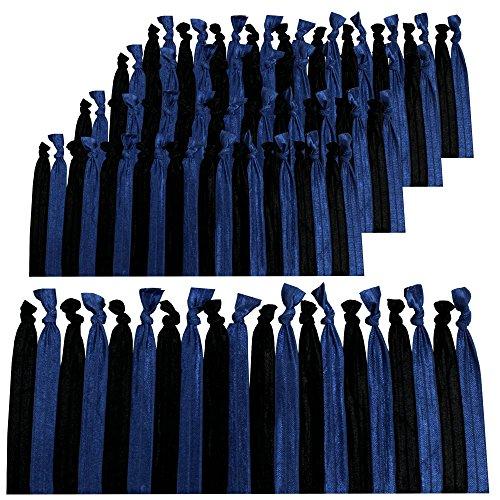 100 pack no crease hair ties - 5