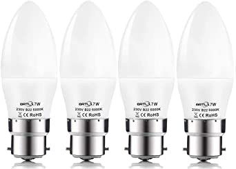 B22 Baïonnette Cap Lumière DEL Ampoule 7 W /& 10 W chaud /& blanc froid Rapide Livraison UK