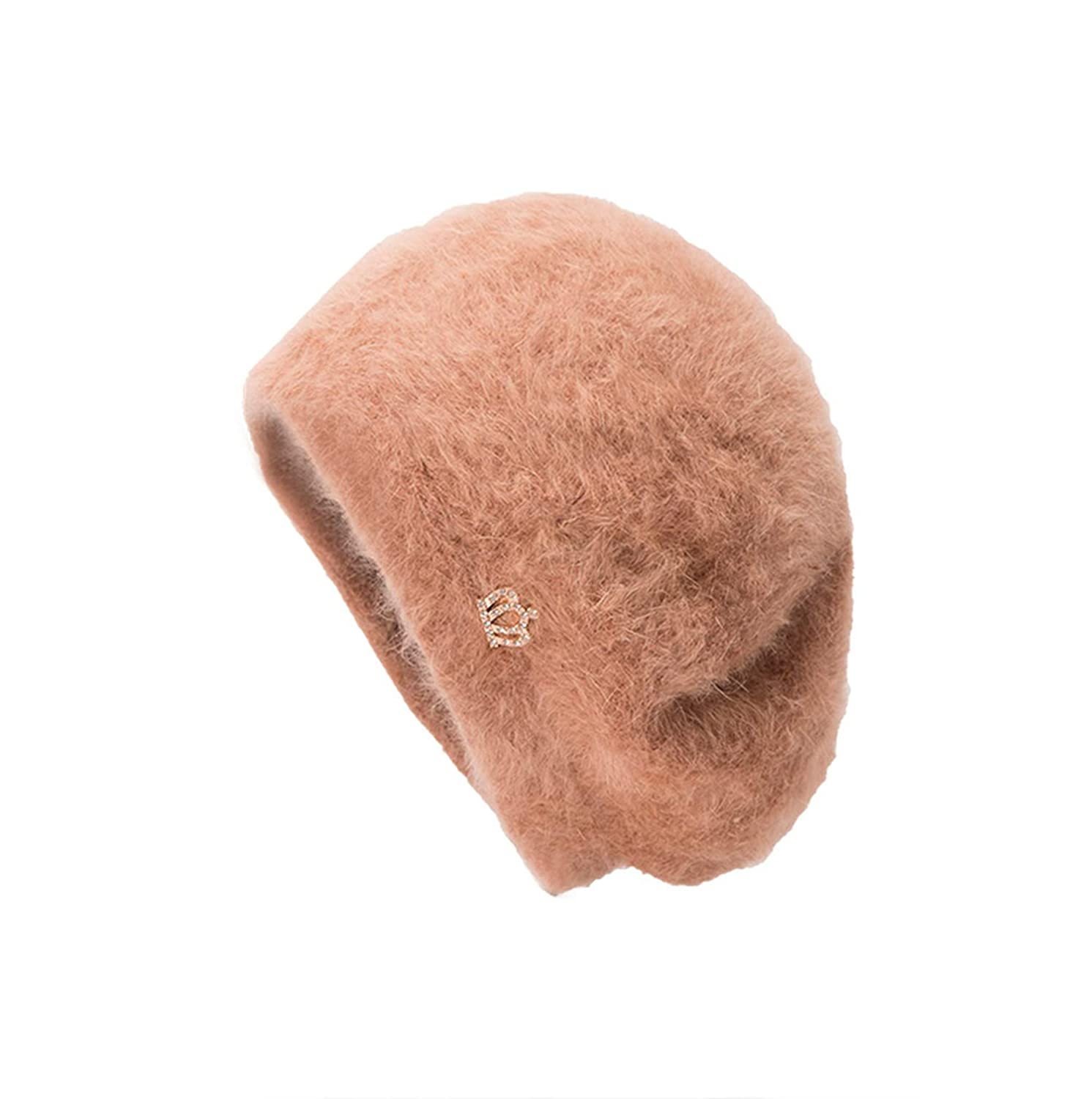Men Womens Accessories Winter Design Crown Casual Solid Ear Protector Slouchy Berets Hat