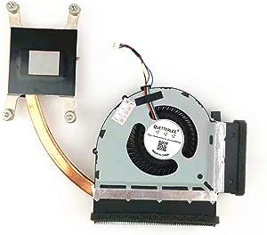 QUETTERLEE Replacement New CPU Cooling Heatsink Fan for Lenovo Thinkpad T520 T520i T530 Series, 04W1580 FOX126830630 34.4KE05.001 75Y5792 75Y5784 KSB06105HA-AG11 UDQFLZR21FFD Heatsink Fan