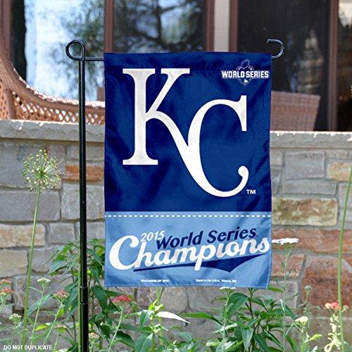 "MLB Kansas City Royals 2015 World Series Champion Garden Flag, 11""x15"", Team Color"