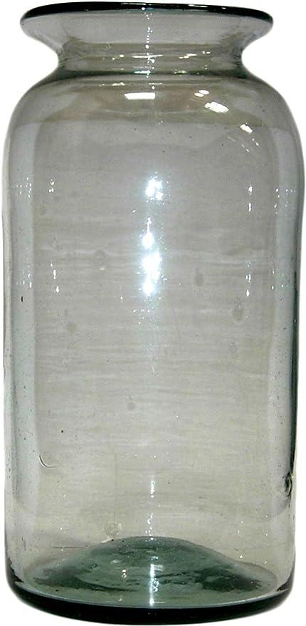 Amazon Homart Seville Recycled Glass Vase Large Home Kitchen