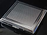 Cigarette Case For 20 pcs Popular Size (84mm) Classic Silver