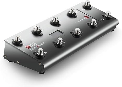meloaudio MIDI Commander para Guitarra, Pedal Controlador MIDI ...