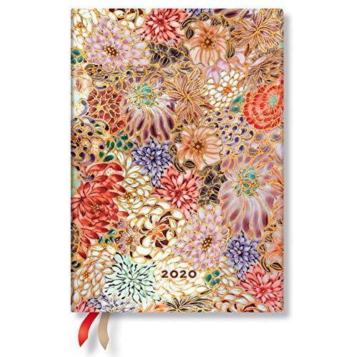 Paperblanks Kikka - Agenda mediana (130 x 180 mm, 1 semana ...
