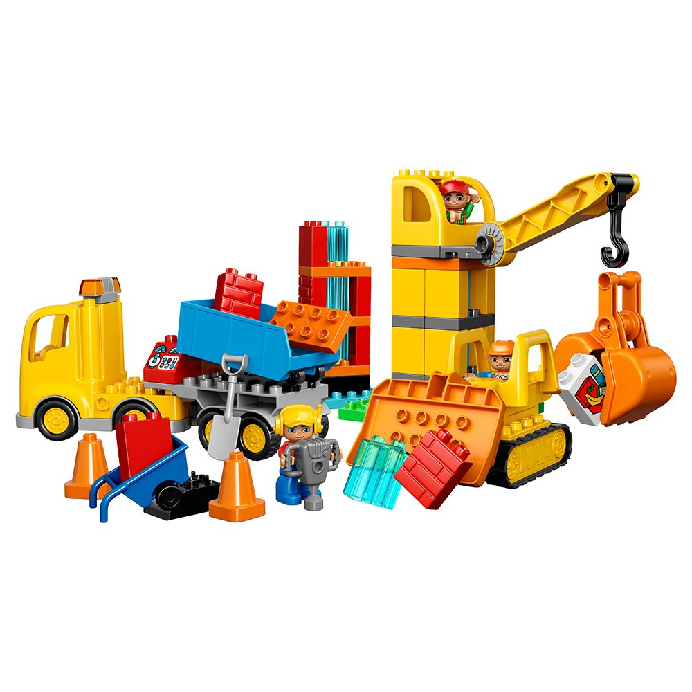 LEGO DUPLO Town Big Construction Site 10813 Best Toy for Toddlers, Large 689989871780 | eBay
