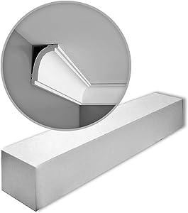 1 Box 33 Pieces Cornices Mouldings 66 m Orac Decor CB523 BASIXX