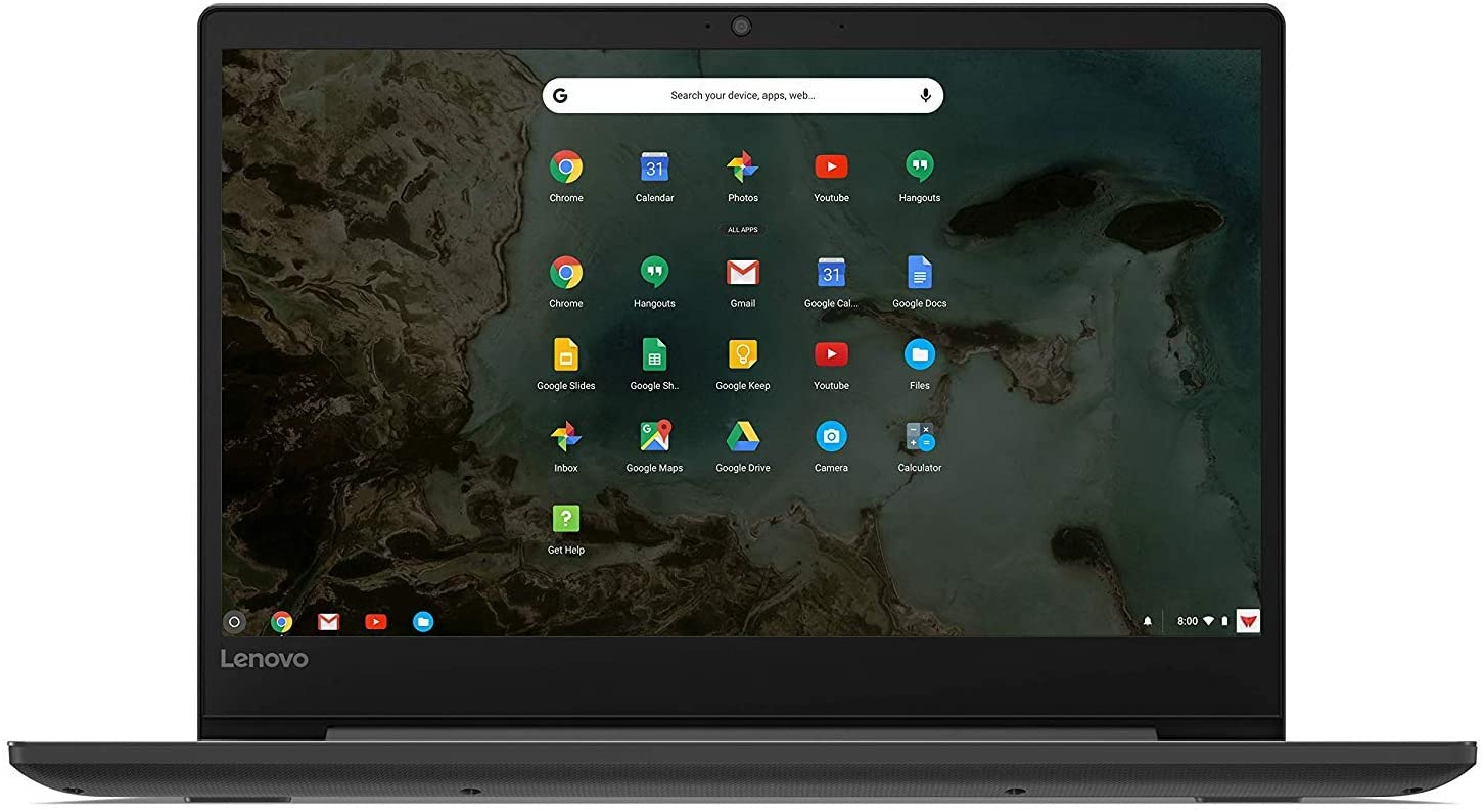 "2019 Lenovo Chromebook S330 14"" IPS Thin and Light Laptop Computer, MediaTek MTK 8173C 1.70GHz, 4GB RAM, 64GB eMMC Flash Memory, 802.11ac WiFi, Bluetooth 4.1, USB 3.0, HDMI, Chrome OS"