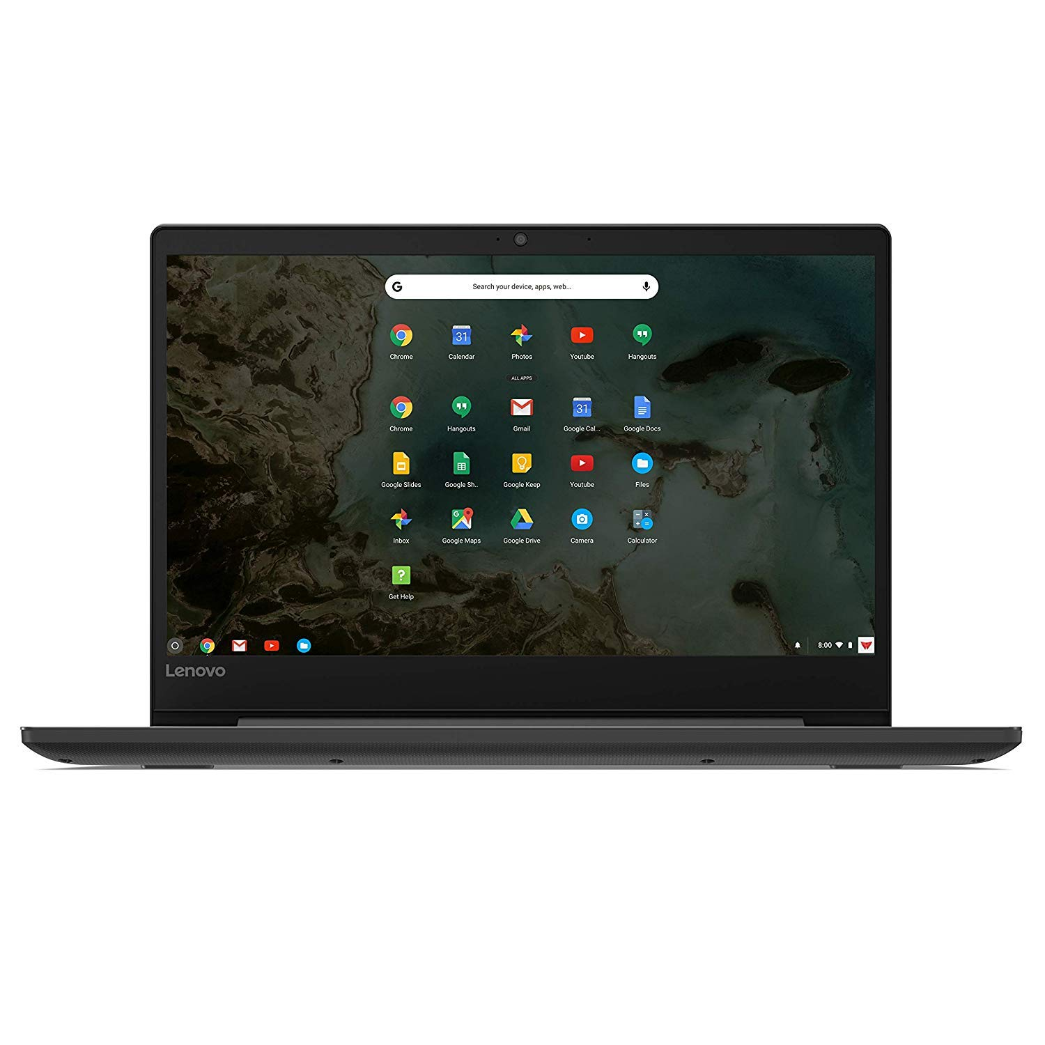 Lenovo Chromebook S330 14in Laptop Computer, Mediatek MT8173C up to 1.7 Ghz, 4GB RAM, 32GB eMMC SSD, Bluetooth, HDMI, USB-C, SD Card Reader, Chrome OS, Black Renewed