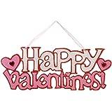 "Valentine's Day 15.25"" Happy Valentines Wall Sign"