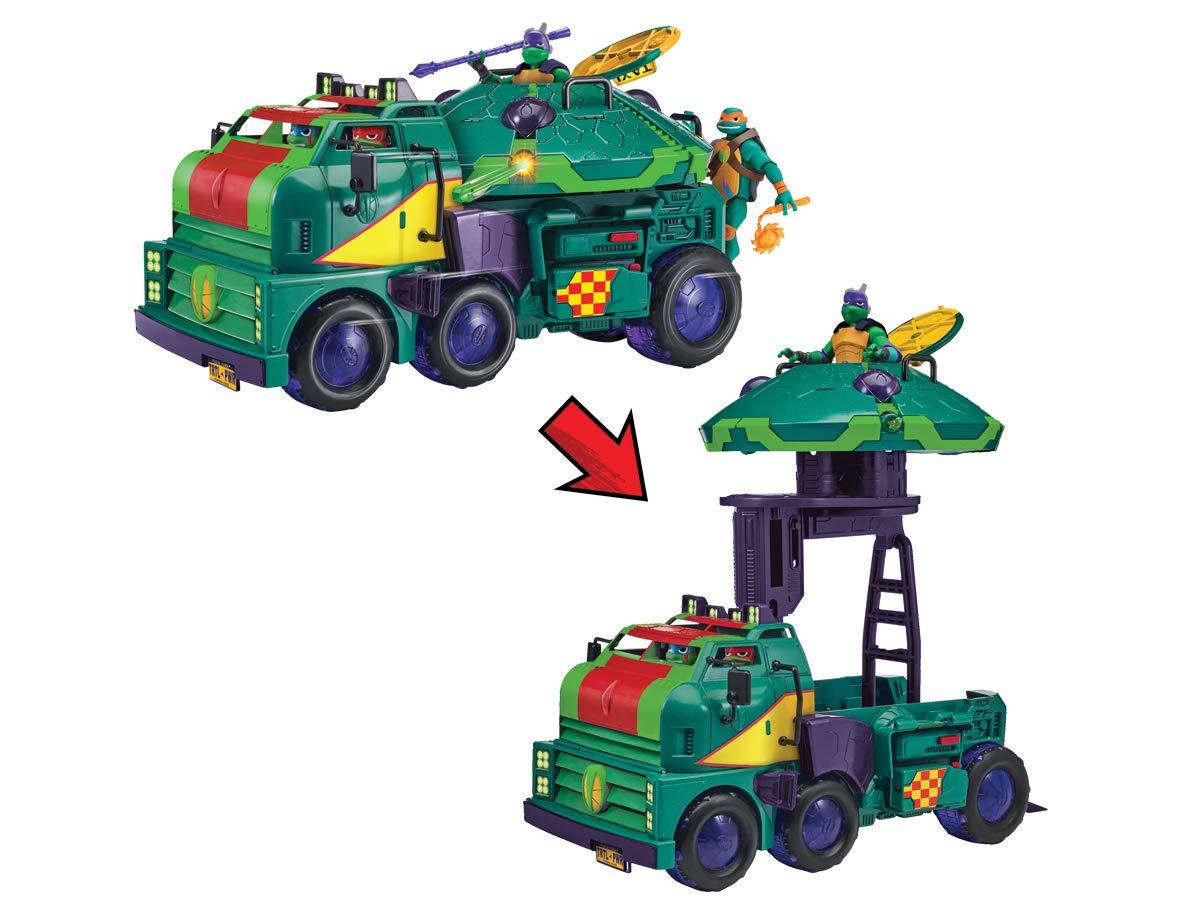 Teenage Mutant Ninja Turtles TUAB6000 - Camion Tanque de las Tortugas, Multicolor