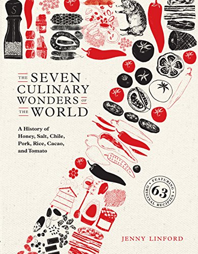 The Seven Culinary Wonders of the World: A History of Honey, Salt, Chile, Pork, Rice, Cacao, and Tomato by Jenny Linford