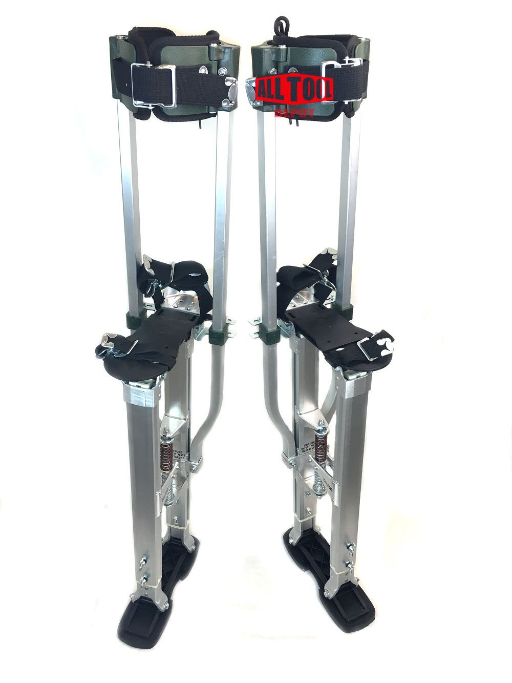 SurPro S2 Interlok Dual Legs Support Aluminum Drywall Stilts 18-23 in. (SUR-S2-1830AP)