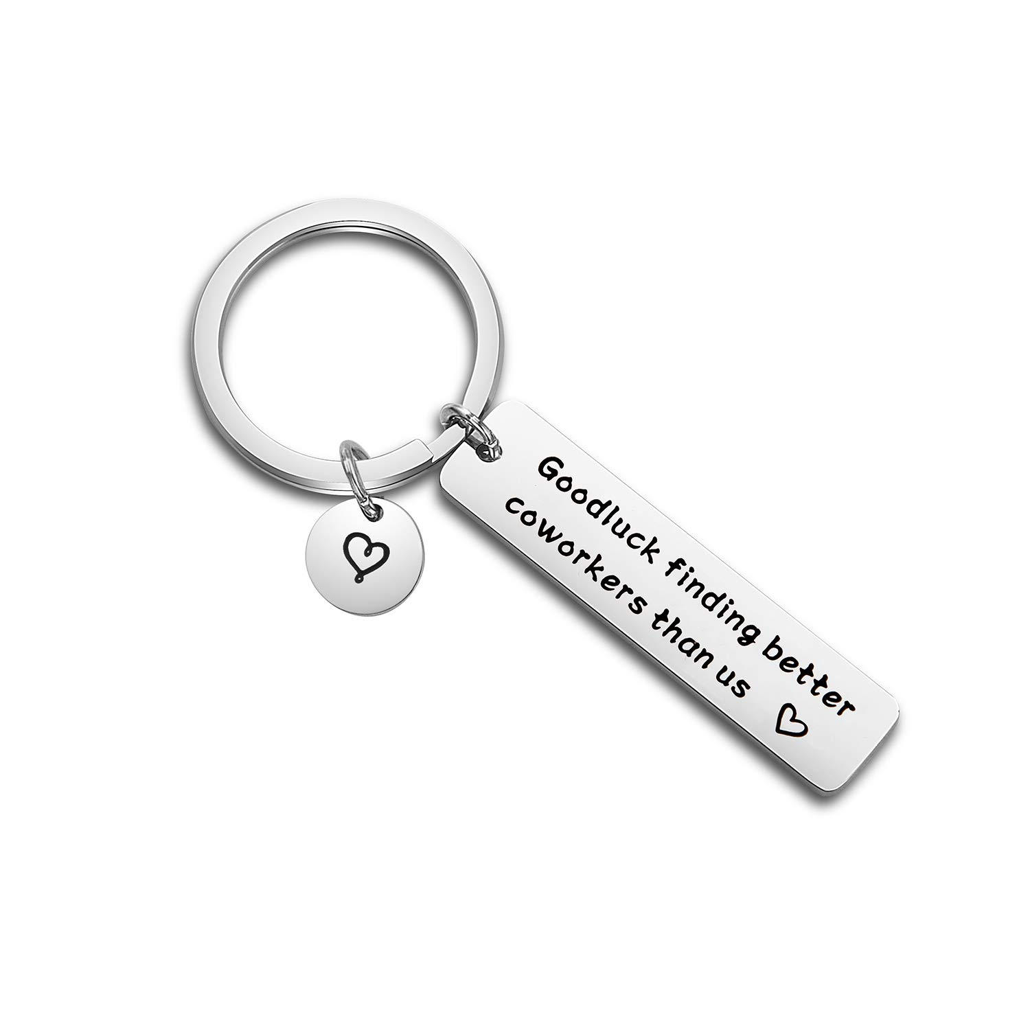 ENSIANTH Coworker Leaving Away Gift Coworker Retirement Keychain Goodbye Gift for Colleague (Coworker Keyring)
