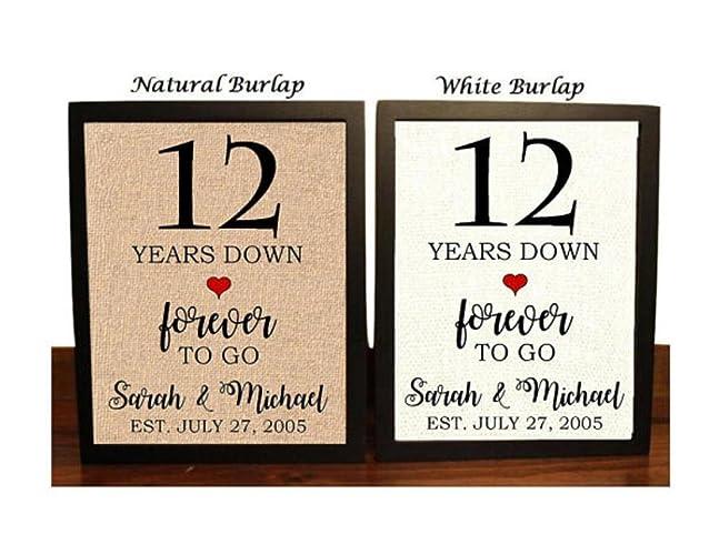 97 12th Anniversary 12 Year Anniversary 12th Anniversary Gift Etsy